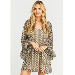 SHOW ME YOUR MUMU Boomerang dress